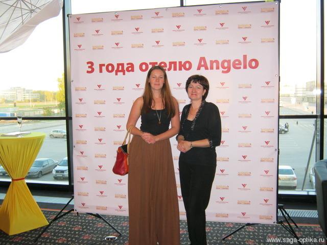 Коллектив «САГА-ОПТИКА» поздравил отель «Angelo» с трехлетием!