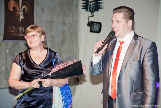 САГА-ОПТИКА поздравила коллектив журнала «СВАДЬБА» с Днем Рождения!