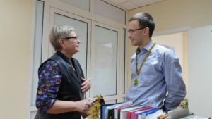 «САГА-ОПТИКА» поздравила руководителя регионального представительства российско-французской компании «МОК-BBGR» с юбилеем.