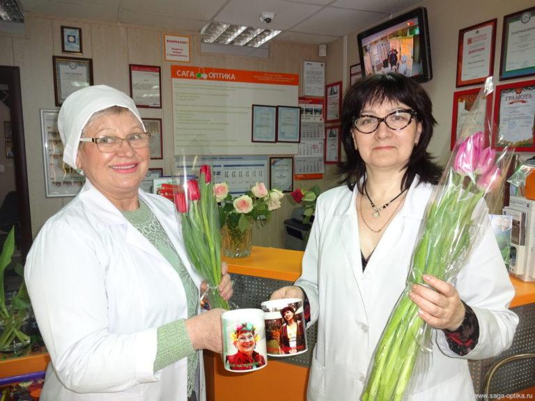 Коллектив «САГА-ОПТИКА» поздравляет всех женщин с Международным женским днем – 8 Марта!