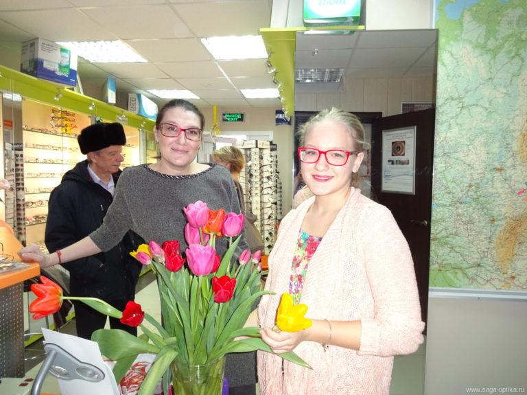 Где взять тюльпаны на 8 Марта? САГА-ОПТИКА делится секретом.